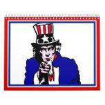 Uncle Sam Wall Calendar