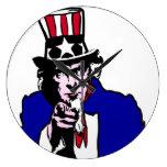Uncle Sam Wallclock