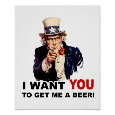 Funny Pictures. Uncle_sam_want_you_get_me_a_beer_poster-p228220694302542990t5wm_400
