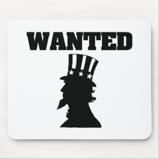 Uncle Sam Wanted Mouse Pad