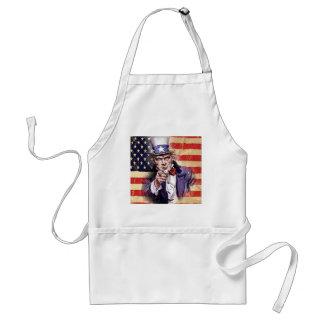 uncle sam wants you! adult apron
