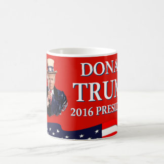 Uncle Sam Wants You Donald Trump 2016 Red Coffee Mug