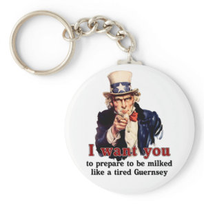 uncle Sam wants you Keychain