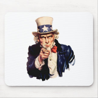Uncle Sam Wants You! Mouse Pad