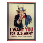 Uncle Sam Wants You Poster