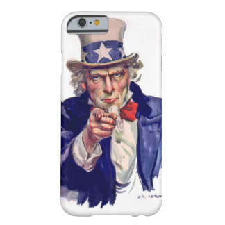 Uncle Sam wants you to vote Barely There iPhone 6 Case