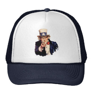 Uncle Sam Wants You! Trucker Hat