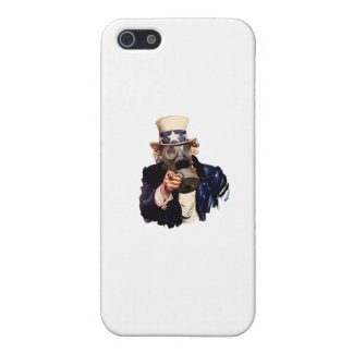 Uncle Sam - With Gas Mask!  Zombie Apocalypse! Case For iPhone SE/5/5s