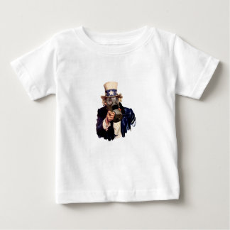 Uncle Sam - With Gas Mask!  Zombie Apocalypse! T-shirt