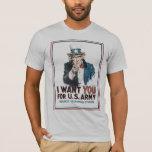 Uncle Sam World War 2  T-Shirt
