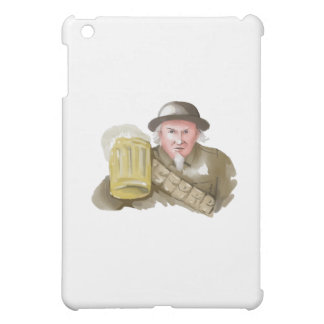 Uncle Sam WW1 Soldier Toasting Beer Watercolor Case For The iPad Mini