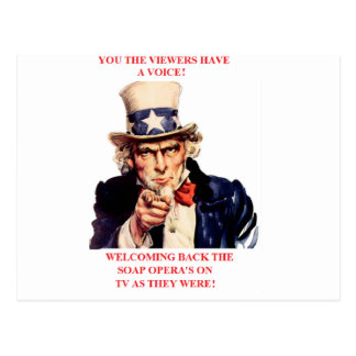 Uncle-Sam, you got a voice Postcard
