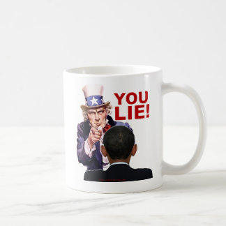 Uncle Sam You Lie Coffee Mug