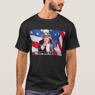 Uncle Sam - You're Done Son - Nobama Tee