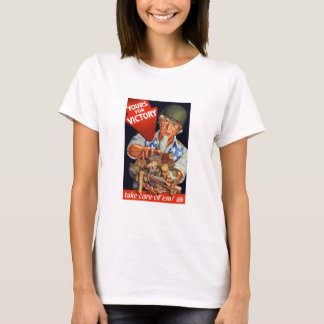 Uncle Sam -- Yours For Victory -- WWII T-Shirt
