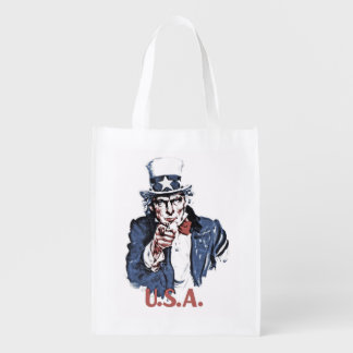 Uncle Sam Market Tote