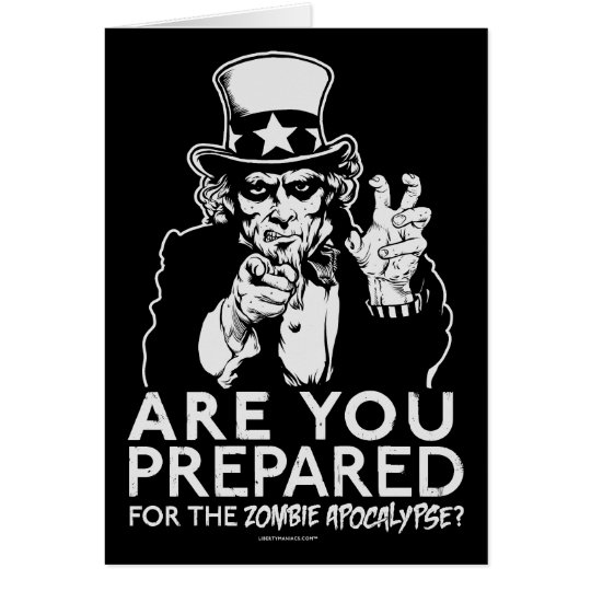 Uncle Sam Zombie Apocalypse Cards