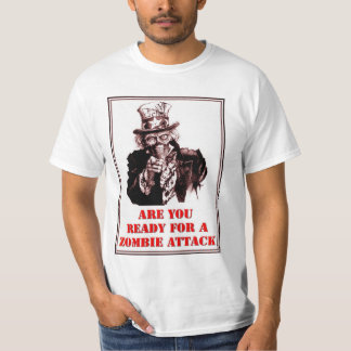 Uncle Sam Zombie Attack Tee