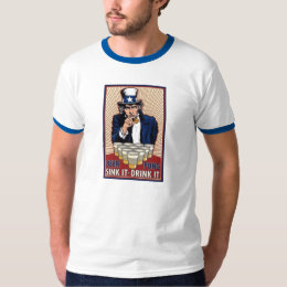 Uncle sam's beer pong T-Shirt