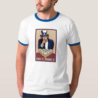 Uncle sam's beer pong T-Shirt
