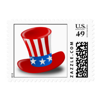 Uncle Sam's Hat! Postage Stamp