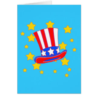 Uncle Sam's Hat Products Card
