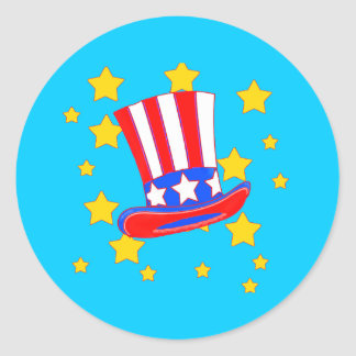 Uncle Sam's Hat Products Sticker