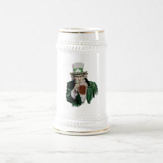 Uncle Sam's Irish Pride Beer Stein