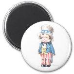 Uncle Sam's Nephew 2 Inch Round Magnet