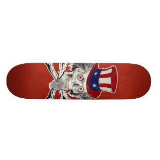 Uncle Skull and Bone Skateboard