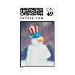 Uncle S'man Postage Stamp