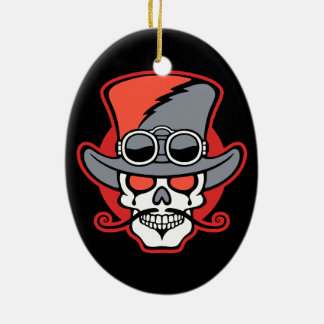 Uncle Steamish Ceramic Ornament