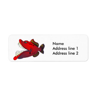 """Uncle Steevo"" Fish with Attitude Label"