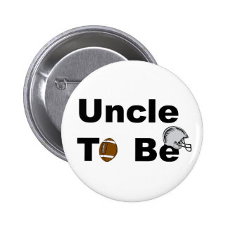 Uncle To Be 2 Inch Round Button