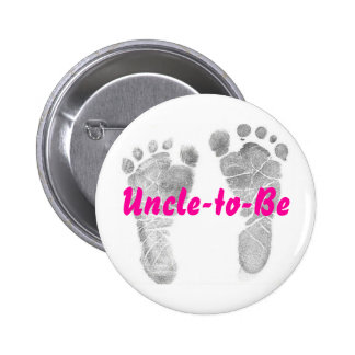 Uncle-to-Be Button