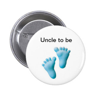 Uncle to be pinback button