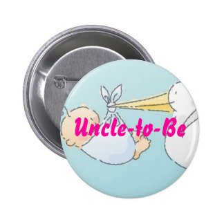 Uncle-to-Be Pinback Button