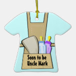 Uncle To Be Ultrasound Photo Frame Ornament