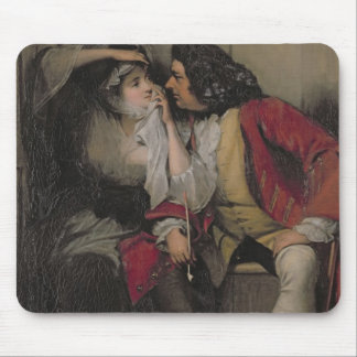 Uncle Toby and Widow Wadman Mouse Pad
