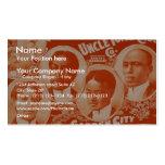 Uncle Tom's Cabin, 'Garden City Quartette' Retro T Business Cards