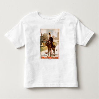 Uncle Tom's Cabin Man and Donkey Theatre Toddler T-shirt