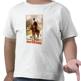Uncle Tom's Cabin Man and Donkey Theatre Shirt