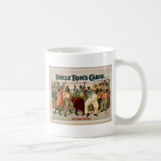 Uncle Tom's Cabin, 'On the Levee' Vintage Theater Classic White Coffee Mug