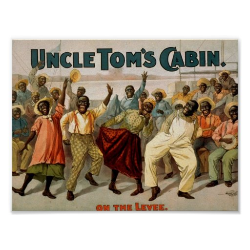 Uncle Tom's Cabin, 'On the Levee' Vintage Theater Poster