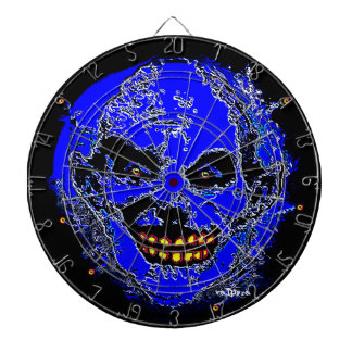 """Uncle Tony Neon Blue """"The Family"""" by Valpyra Dart Board"""