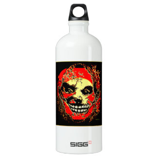 """Uncle Tony Neon Tri Fire """"The Family"""" by Valpyra Aluminum Water Bottle"""