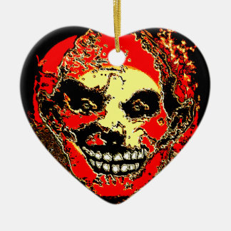"""Uncle Tony Neon Tri Fire """"The Family"""" by Valpyra Ceramic Ornament"""