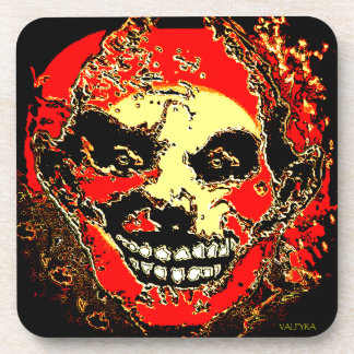 """Uncle Tony Neon Tri Fire """"The Family"""" by Valpyra Coaster"""