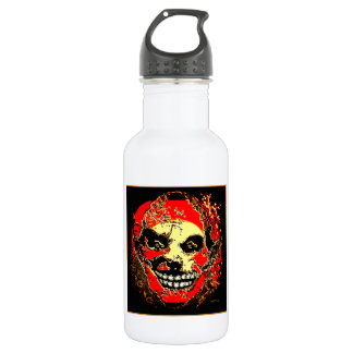 """Uncle Tony Neon Tri Fire """"The Family"""" by Valpyra 18oz Water Bottle"""