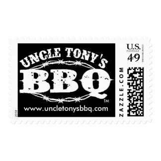 Uncle Tony's BBQ 1st Class Postage Stamp